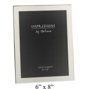 Plain 15cm x 20cm Silver Plated Photo Frame