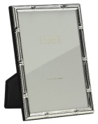 Addison Ross, Photo Frame, 5x7 , Silver Plate Bamboo, 13cm x 18cm