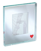 Spaceform Single Glass Picture Frame - Red Heart