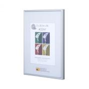 Nielsen Accent Silver A2/ 42 x 59.4 cm, Plastic Glass facing
