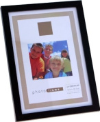 Deluxe Wooden Black A4 Certificate Photo Frame from Living Images