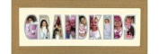 Photos in a Word Photos in a word - Grandkids Oak Finish