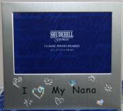 I love my Nana Photo Frame (6x4) Grandparent Gift