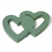 Oasis Floral Foam Double Open Heart Frame