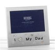 I Love My Dad 15cm x 10cm Photo Frame