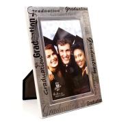 Black and Silver Graduation Photo Frame