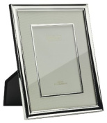 Addison Ross, Photo Frame, 5x7 , Silver Plate with Cream Mount and Bezel, 13cm x 18cm