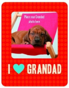 I Love Grandad Magnetic Photo Frame