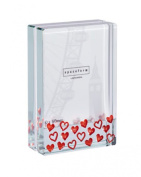 Spaceform Dinky Glass Photo Frame - Red Hearts