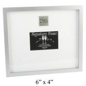 Celebrations Large 25th Anniversary / Birthday Signature Photo Frame