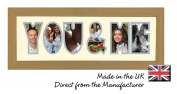 Photos in a Word You & Me Photo frame in wood finish, a Gift for your Partner, Direct from the Manufacturer