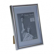 New York Silver 8x6 Photo Frame