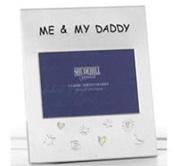 Me & My Daddy 15cm x 10cm Photo Frame