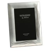 Silver Plated Photo Frame - Grasslands Design 4x6