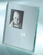Baby feet mirror photo frame