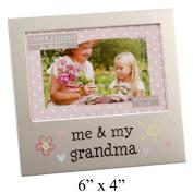 Me & My Grandma 15cm x 10cm Aluminium Frame - FA519GM