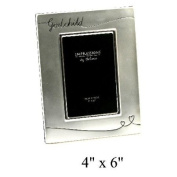 Silverplated Godparent Gifts - God Child Photo Frame Satin Finish