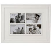 Large White Collage Photo Frame