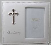 Beautiful White Unisex Amore Christening Picture Photo Frame 10cm x 15cm