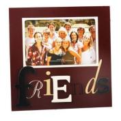 Friends Maroon Photo Frame, 6 x 4, gift