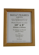 HONEY PINE WOOD SQUARE PICTURE PHOTO FRAME