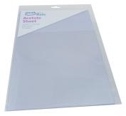 A4 Acetate Sheet - Clear - 10 Sheets - 297 x 210mm - 240 micron