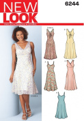 New Look A 8-10-12-14-16-18 Sewing Pattern 6244 Misses Dresses