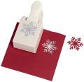 Martha Stewart Large Himalayan Snowflake Punch Christmas Lever Punch M232301