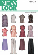 New Look A 8-10-12-14-16-18 Sewing Pattern 6203 Misses Special Occasion Dresses