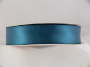 38mm Double Sided Satin Ribbon in TEAL - New 25m Roll