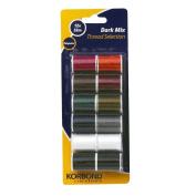 Korbond 12 x 32 m Dark Mix Thread Selection
