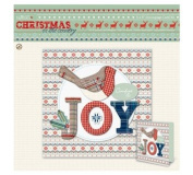 Papermania 6 x 6 Decoupage Card Kit - Christmas in the Country