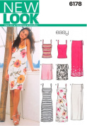 New Look A 8-10-12-14-16-18 Sewing Pattern 6178 Misses Separates