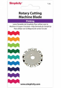 Simplicity Rotary Pinking Cutting Machine Blade