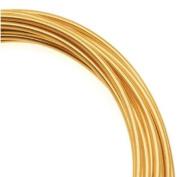 Artistic Craft Wire Gold Colour Brass Non Tarnish 12 Gauge / 3m