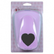 Woodware Craft Collection Super Duper Lever Punch - Scalloped Heart