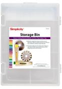Simplicity Storage Bin-Clear