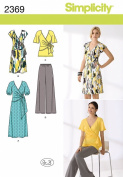 Simplicity Sewing Pattern 2369 Misses' Dress and Seperates, K5