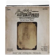 Sizzix Movers & Shapers Repositionable Magnetic Die, Tim Holtz Alterations, ATC & Corners