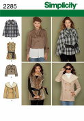 Simplicity H5 6-8-10-12-14 Sewing Pattern 2285 Misses Jackets