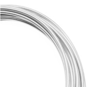 Artistic Craft Wire Silver Plated Non Tarnish 12 Gauge / 3m