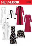 New Look A 10-12-14-16-18-20-22 Sewing Pattern 6305 Misses Dresses