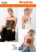Simplicity HH 6-8-10-12 Sewing Pattern 2355 Misses Corsets