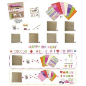 Decopatch Alphabet And Number Kit Brown