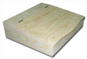 Plain Wooden Tidy Desk Organiser/ Paperwork Case- Decoupage Art Craft