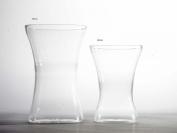 20cm Acrylic Gathered Vase