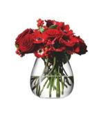 LSA FLOWER TABLE BOUQUET VASE 17cm CLEAR