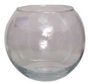"""6"""" (15cm) Clear Glass Fish Bowl Bubble Ball Table Wedding Display Vase"""