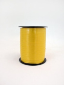 1 roll 5mm x 500m Curling Balloon Ribbon - YELLOW for Gift Wrapping, Party Favours, Decoration, Florist, Floral & Craft work