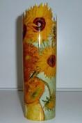 John Beswick Silhouette d'art Van Gogh Sunflowers Vase